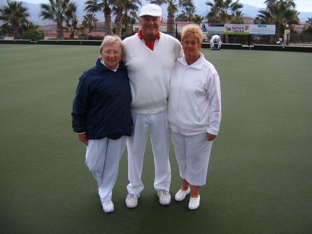 Third Lin and John Burgess Sylvia Pritchard