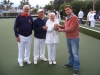Winners Colin Wright Ken and Viv Sykes