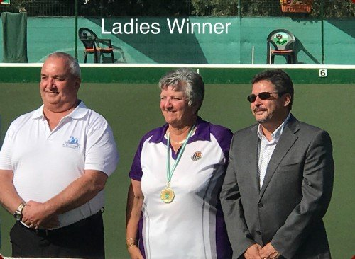 Ladies Singles Winner