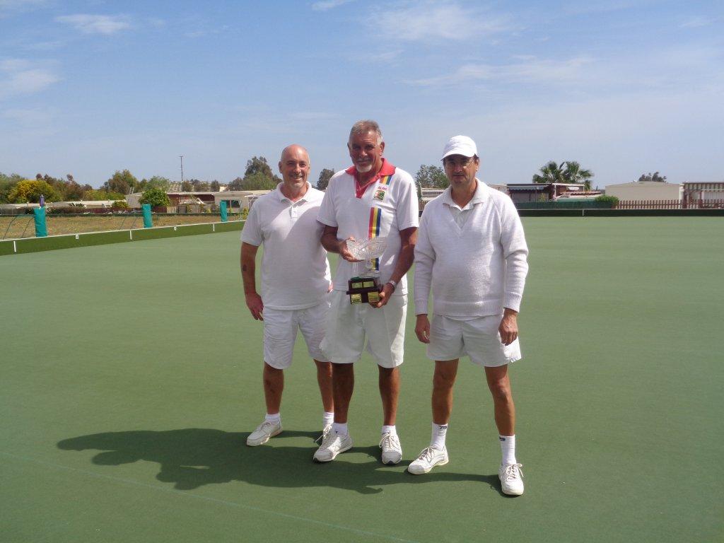 Winners Stephen Byatt Graham Patrick Chris Ewer