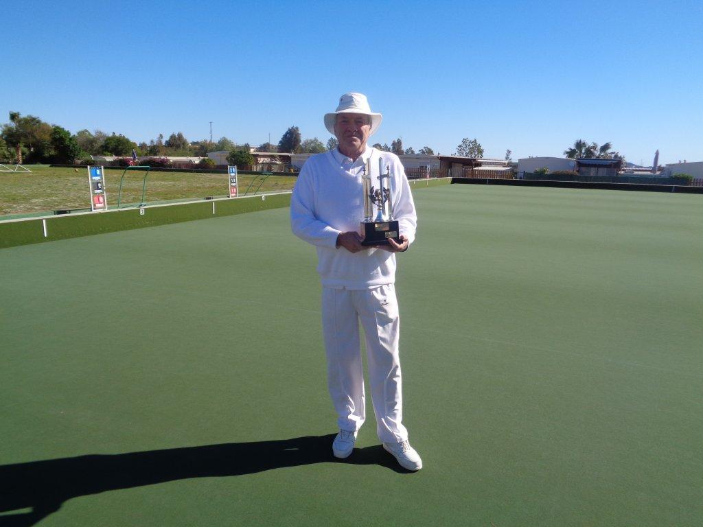 Ken Richardson Winner Mens Singles