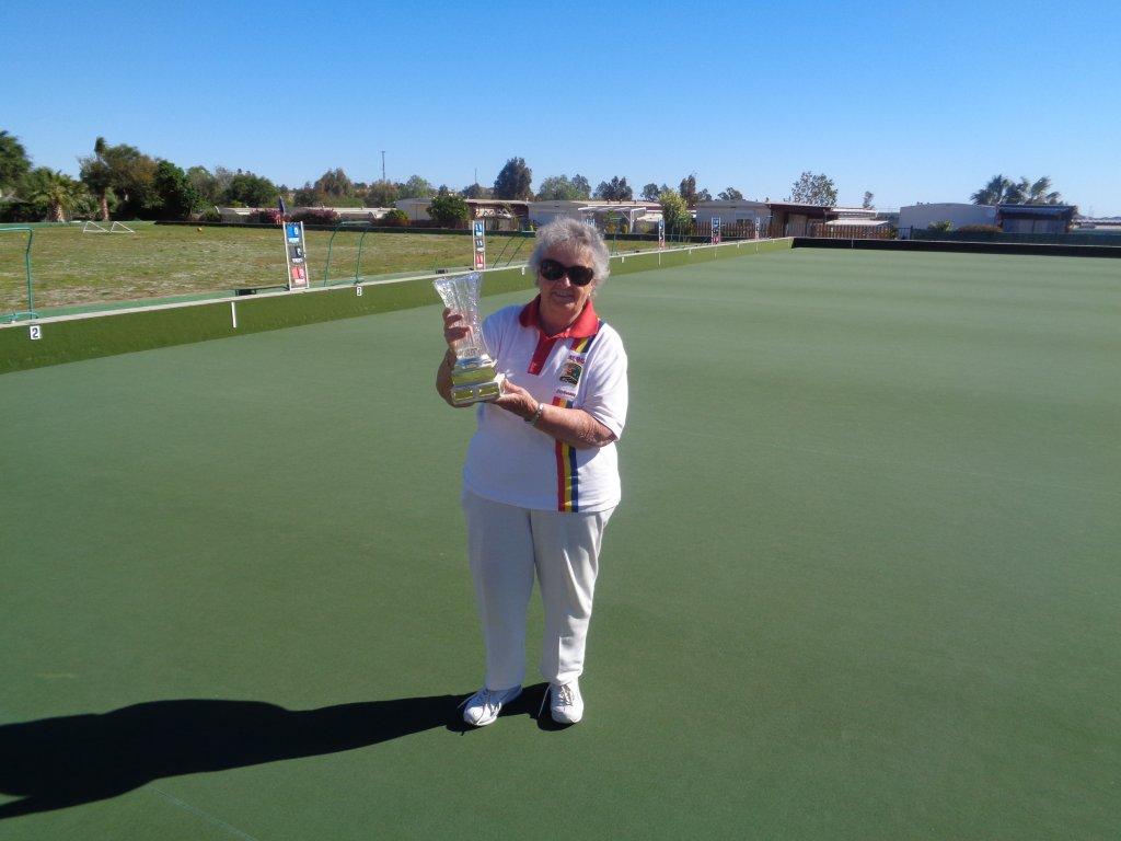 Siobhan Herrity Winner Ladies Singles