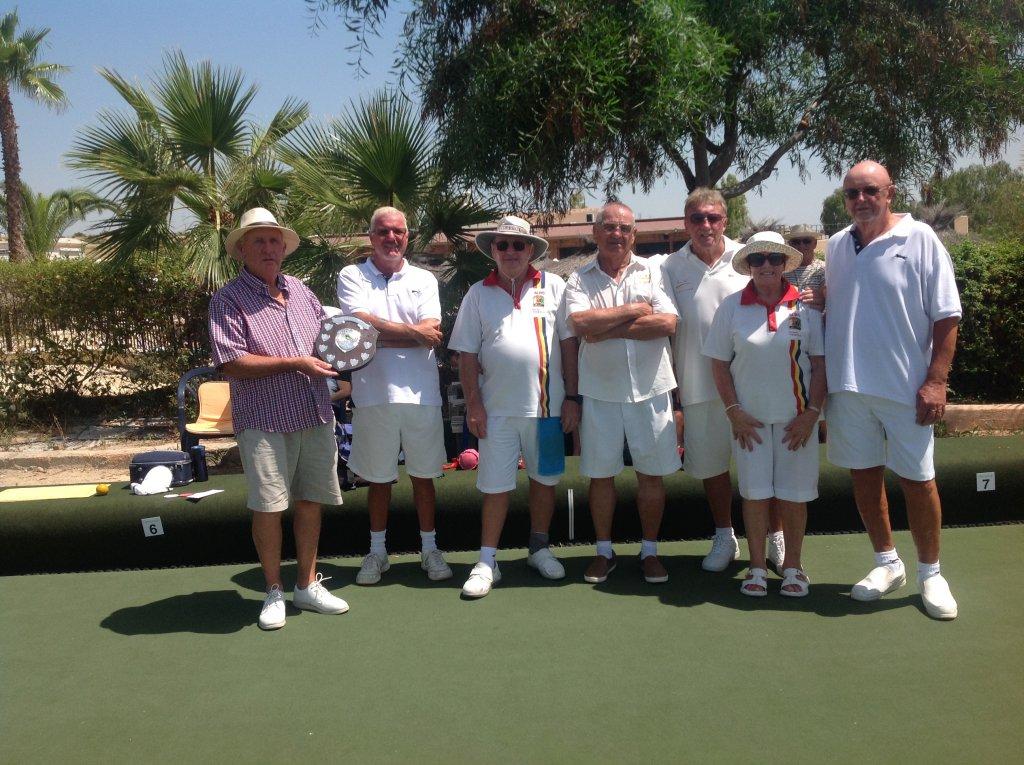 Finalists REliant Trophys