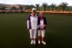 Ladies Winners C.Ivin and B Davies