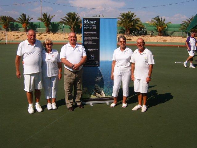 Mixed Fours Winners A Gateshill B Land N. cummins and Mary Detheridge