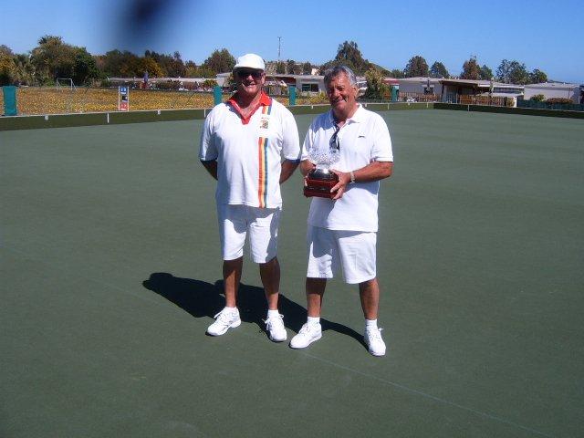 Finalists John Burgess & Brian Hallam
