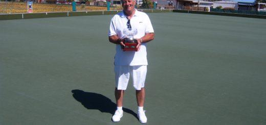 Winner Brian Hallam